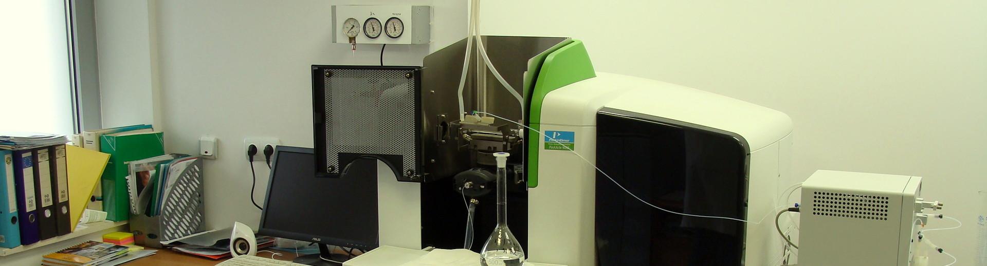 Лабораторията разполага със съвременна и модерна апаратура.